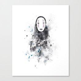 No Face Canvas Print