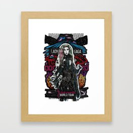 Joanne World Tour Framed Art Print