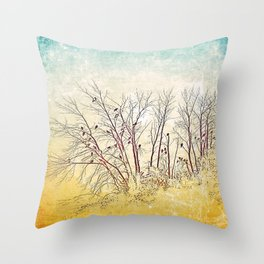 :: There's Vultures Out There :: Throw Pillow