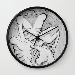 who`s me Wall Clock