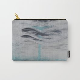 """""""Wind And Water"""" Painting1of 2 - Elements Series Carry-All Pouch"""