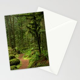 The Deep Woodland  Path... Stationery Cards