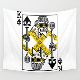 Dead King Card Wall Tapestry