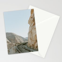 Through the mountains Stationery Cards