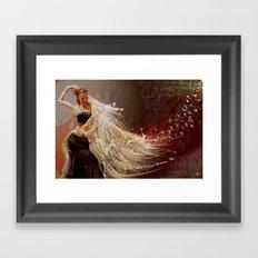La Vida °^ Flamenca Framed Art Print