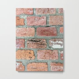 Elba Alabama brick Metal Print