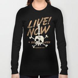 Switchblade Skull Long Sleeve T-shirt