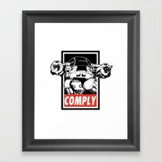 OBEY ED-209 Framed Art Print