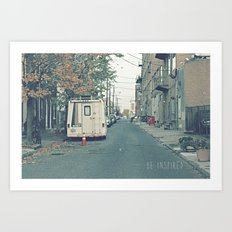 Be Inspired.  Art Print