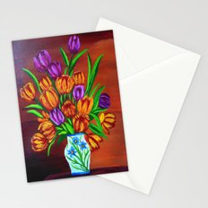 Valentine's bouquet Stationery Cards