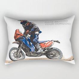 RACE BEYOND Rectangular Pillow