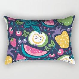 Hello Fruity Rectangular Pillow