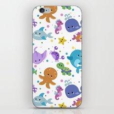 Ocean Cuties iPhone & iPod Skin