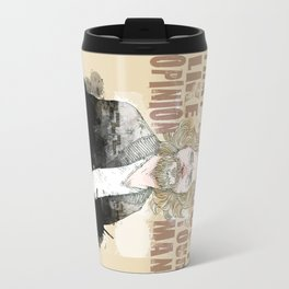 The Dude, The Big Lebowski Quote  Travel Mug