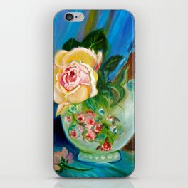 Rose and Candle iPhone Skin
