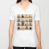 buffy the vampire slayer V-neck T-shirts featuring Buffy the Vampire Slayer: Season One by BovaArt