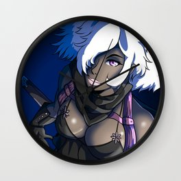 Scarlet Jacobs Wall Clock
