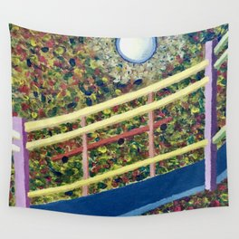 It's the Third Level Stairway to Your Right Wall Tapestry