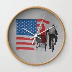 Scrapped Wall Clock