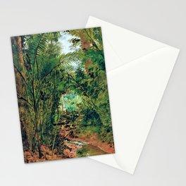 12,000pixel-500dpi - Jose Ferraz de Almeida Junior - Landscape at the Rio das Pedras Stationery Cards
