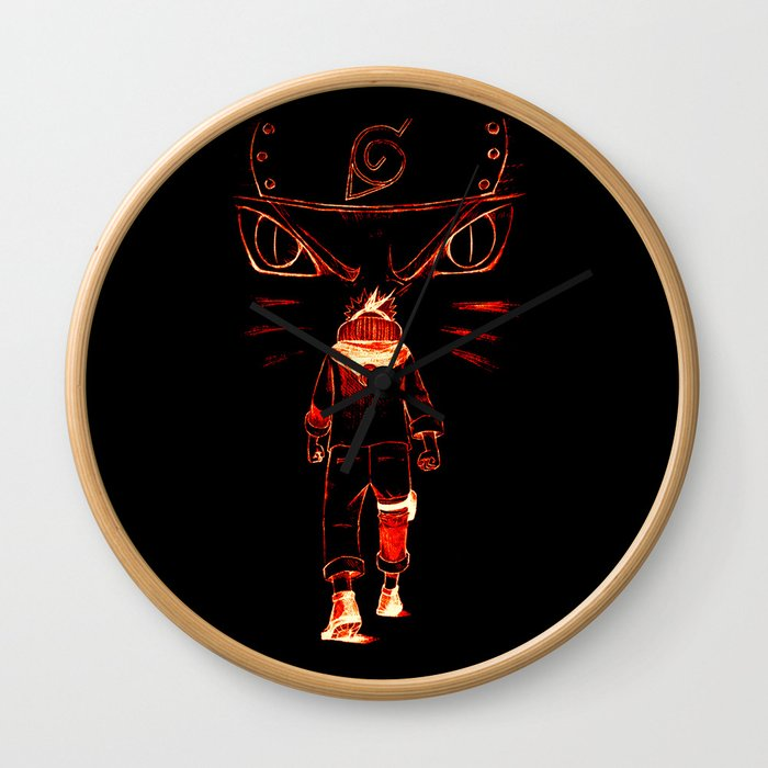 Noisy Ninja Wall Clock