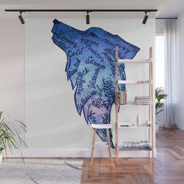 Galaxy Wolf Wall Mural
