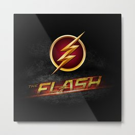 The Flash Inside Metal Print