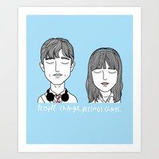 T & S Art Print