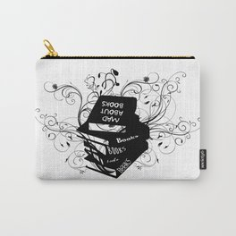 Mad About Books Carry-All Pouch