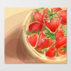 fraises. Canvas Print