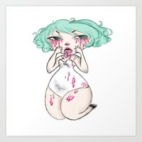 studio killers Art Prints featuring Studio Killers by melora mylin