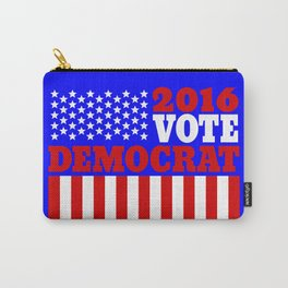 Vote Democrat  Carry-All Pouch