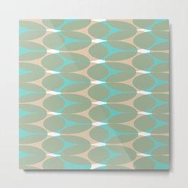 Soft pattern Metal Print