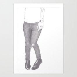 Harry Styles IV Art Print
