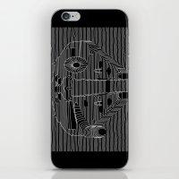 millenium falcon iPhone & iPod Skins featuring Millenium division by BomDesignz