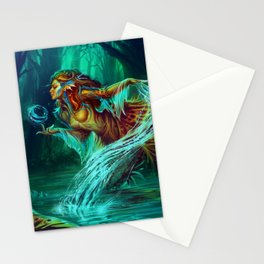 The legend of Mermaid Stationery Cards