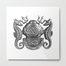 Nautique Metal Print