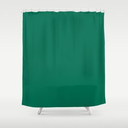 PANTONE 18-5845 Lush Meadow Shower Curtain