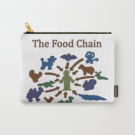The Food Chain Carry-All Pouch