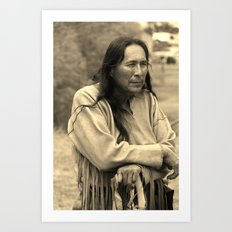Cheyenne Warrior Art Print
