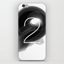 Number 2. Dark Math.  iPhone Skin