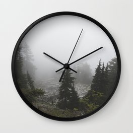 Mount Pilchuck 06 Wall Clock