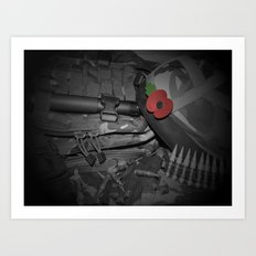 Poppy of Rememberance Art Print