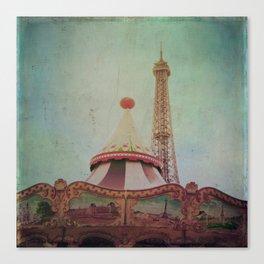 Bohemia of Paris Canvas Print