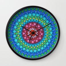 Orb of Peace Wall Clock