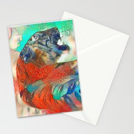 Tiger's Realm Stationery Cards