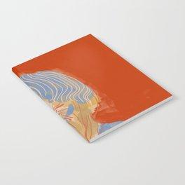 Ursula K. Le Guin portrait + quote Notebook