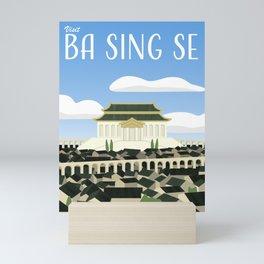 Ba Sing Se Travel Poster Mini Art Print
