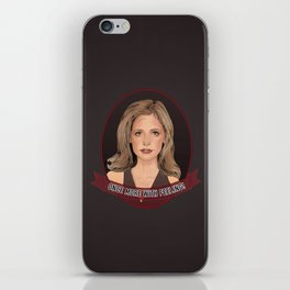 Buffy Summers - Once More with Feeling iPhone Skin