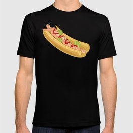 Hot Dog Girl T-shirt